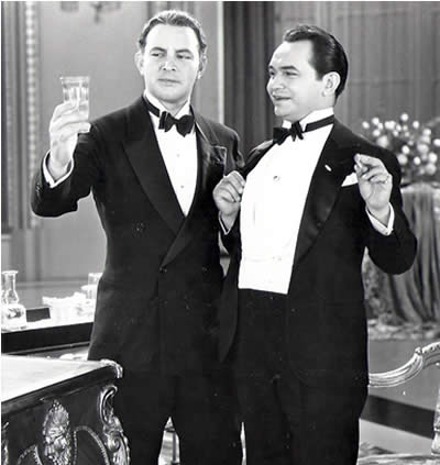 "Edward G. Robinson in ""Little Caesar"""